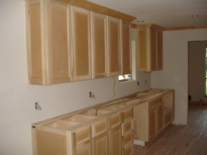 flip - day 17 - kitchen cabinets