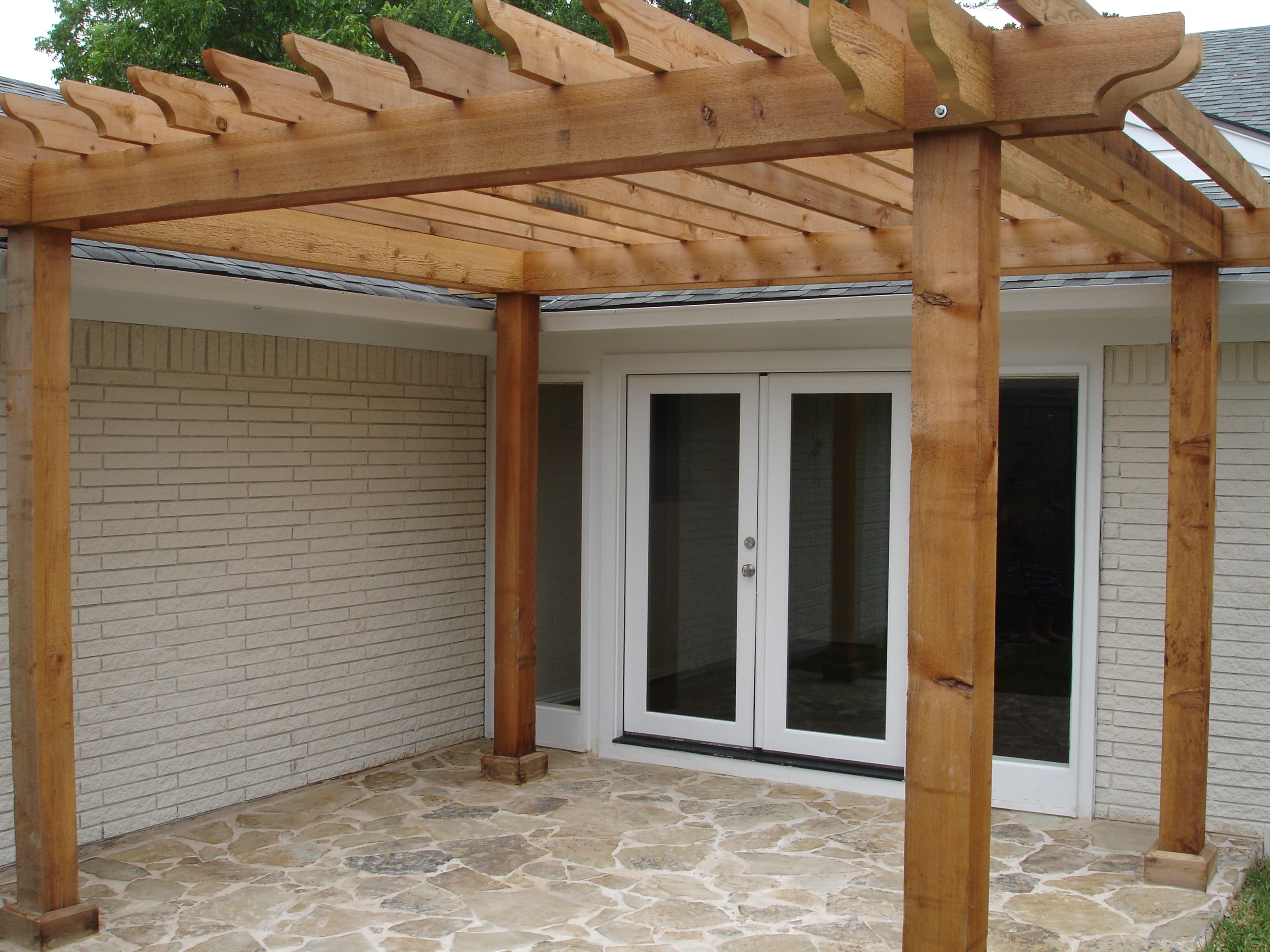 Cost to build pergola - Cedar Pergola Cedar Pergola Kits Rick S Custom Fencing Decking This Would Be Perfect Except We Need Full Shade With A Metal Roof Pinterest We