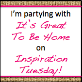 blog party button - inspiration tuesday