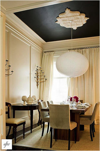 Paint Your Ceiling a Bold, Fun Color