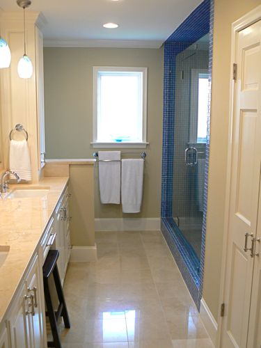 How to change a light bulb for Master bathroom jack and jill